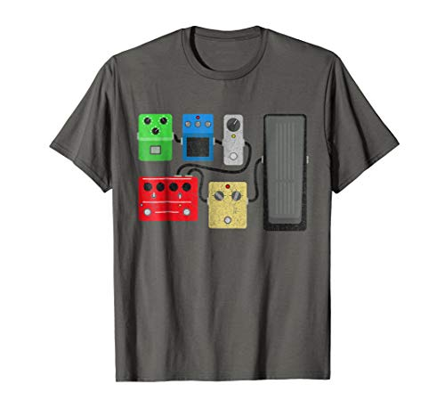 Vintage Guitar Effects Pedal Shirt - Stompbox