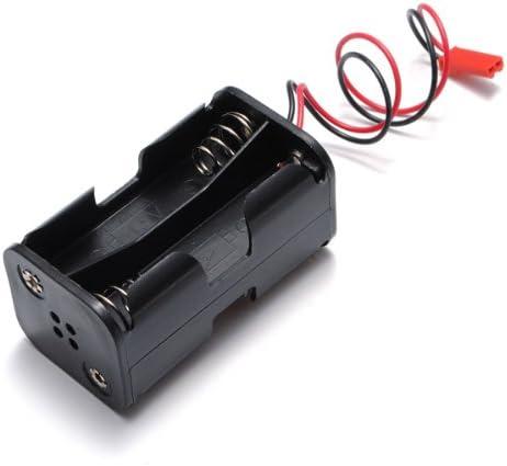 Récepteur 6 V 4 x AA Compartiment Batterie Case Boîte JST Connecteur pour RC voiture