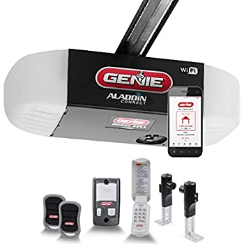 Genie QuietLift Connect - WiFi Smart Garage Door Opener with Added Wireless Keypad, ¾ HPC Smart Belt Drive - Compatible with Alexa and Google Assistant, Model 3053-TKV