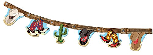Forum Novelties 75917 Wild West Banner Decoration