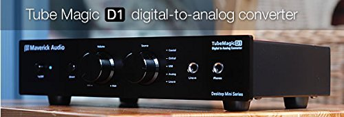 Maverick Audio D1 Digital to Analog converter DAC + Headphon
