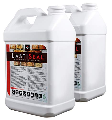 LastiSeal Brick & Concrete Sealer (5-gal) | All Purpose Sealer for Brick, Concrete, Pavers, Porous Masonry | 15-Year Waterproofing Warranty