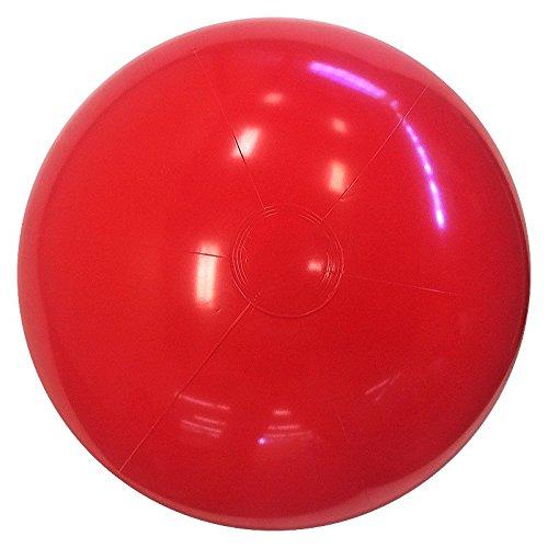 (Beachballs - 24'' Solid Red Beach)