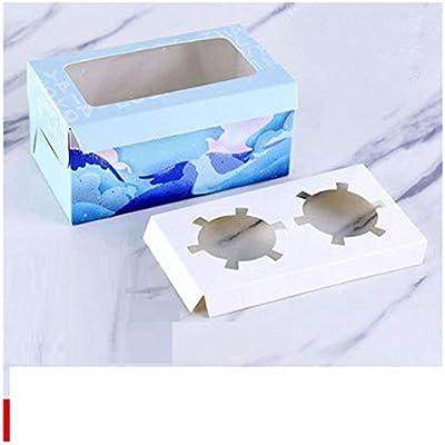 Cajas de regalo para magdalenas, 15 unidades, caja gruesa para ...