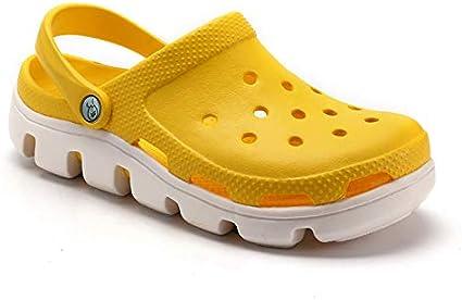 LLTTKLthj Sandalias de Playa, Zapatos con Orificios, Pantuflas de ...