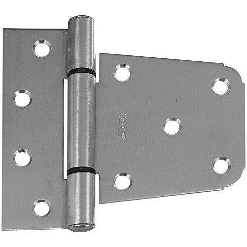 National Hardware N342-543 V289 Extra Heavy Gate Hinge in Stainless Steel (Hinges Gate Steel)