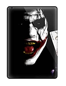 Ipad Air Hard Back With Bumper Silicone Gel Tpu Case Cover The Joker
