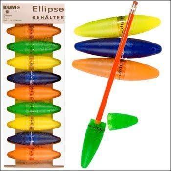 KUM 楕円形鉛筆削り 10個セット