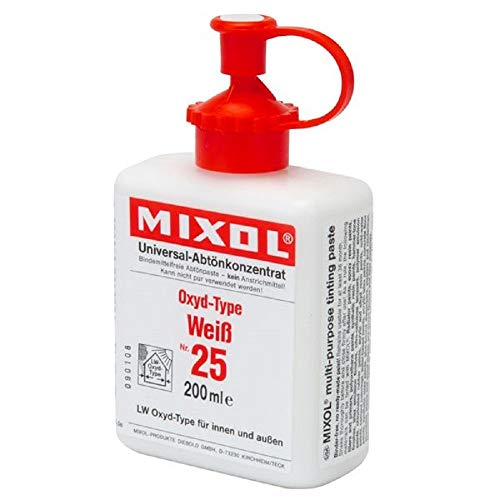Mixol Universal Tints, White, #25, 200ml