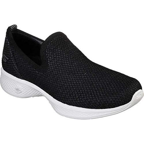 (スケッチャーズ) Skechers レディース ランニング?ウォーキング シューズ?靴 GOwalk 4 Privilege Slip-On Walking Shoe [並行輸入品]