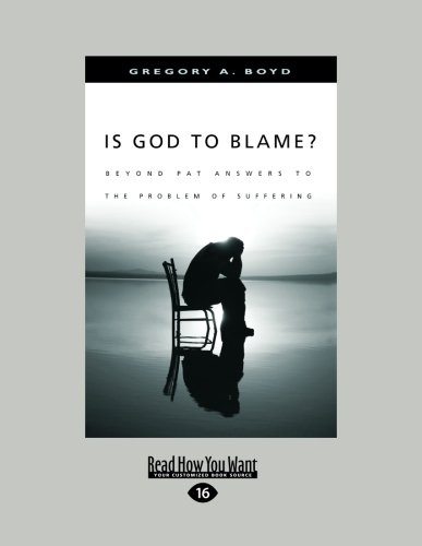 Is God to Blame?: Moving Beyond Pat Answers to the Problem of Suffering