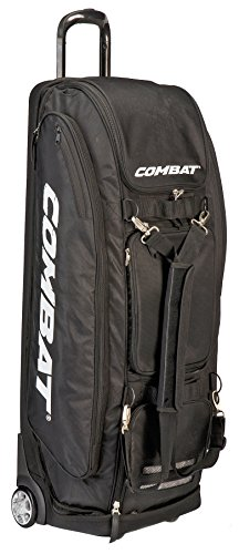 Combat Derby Pro Event Black Catcher / Team / Player Wheeled Equipment Bag ()