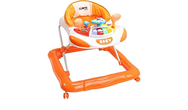 CUORE BABY Andador Naranja Actividades Bebe: Amazon.es ...