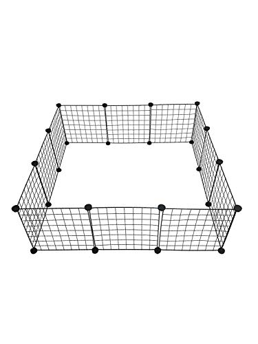 Midlee Guinea Pig Cage Panels Pet Gates - Set of 12 (Cubes And Coroplast Cages For Guinea Pigs)