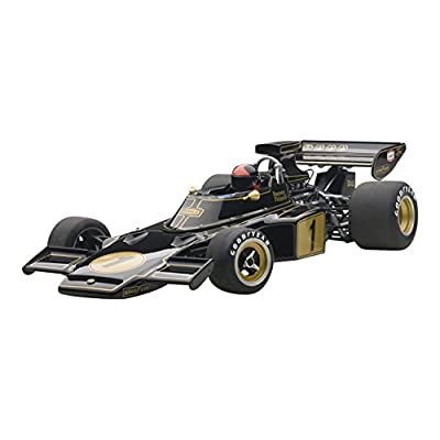 Lotus 72E 1973 Emerson Fittipaldi #1 with Driver Figure in Cockpit 1/18 by Autoart 87328: Toys & Games
