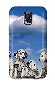 Ultra Slim Fit Hard Sherman Case Cover Specially Made For Galaxy S5- Dalmatian