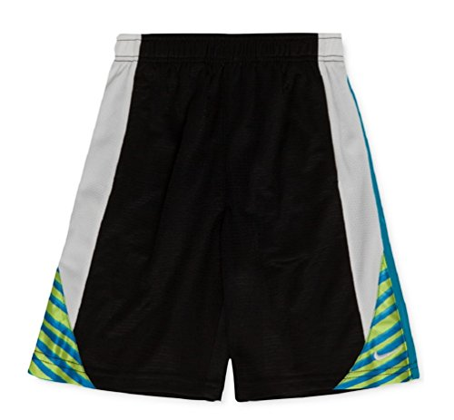 Nike Little Boys' Pieced Avalanche Shorts Black (4) by Nike (Image #1)