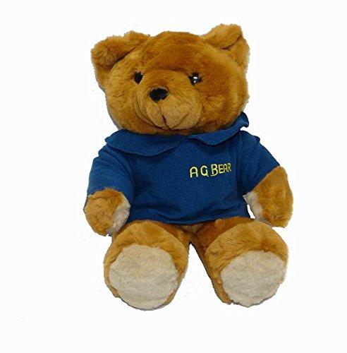 New 17'' Vintage 1985 A.G. Brown Teddy Bear Stuffed Animal Plush Toy W/ Voice Box by A.G. Bear