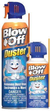 Max Professional 1113 Blow Off Air Duster 8 Oz - Pack of 12