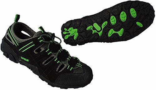Herren Outdoorsandale Schuhe Trekking Sandale Gr.41 - 46 Art.-Nr.5343 schwarz-grün