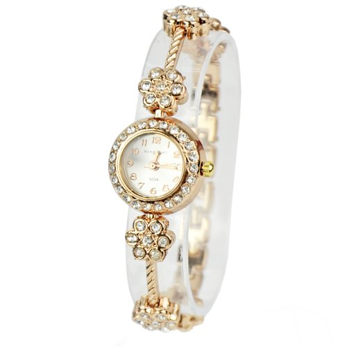 Zeagoo Womens Crystal Blossom Bracelet product image
