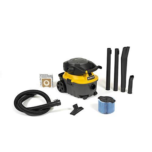 Workshop Wet Dry Blower Vac WS0400DE Portable Wet Dry Vacuum Cleaner & Blower, 4 gallon Leaf Blower Vacuum Cleaner, 6.0 Peak Hp Small Shop Vacuum & Blower