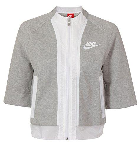 Nike Crop Top (Nike Tech Fleece Cropped Splatter Womens Jacket Size M)