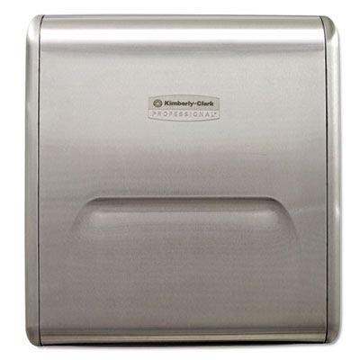 Kimberly-Clark 31501 Mod System Dispenser, Stainless Steel, Recessed Housing