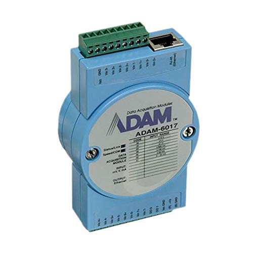Replacement of ADAM-6017-CE Advantech ADAM-6017-D 8-ch Isolated Analog Input Modbus TCP Module with 2-ch DO