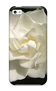 Nannette J. Arroyo's Shop Best 5187564K67687862 New Diy Design White Flowers For Iphone 5c Cases Comfortable For Lovers And Friends For Christmas Gifts