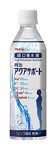 アクアサポート【経口補水液】500ml×24本