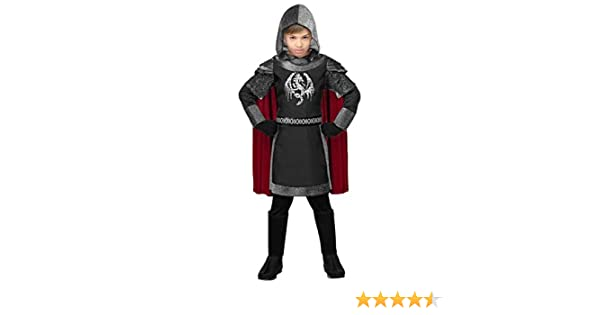 WIDMANN Disfraz de Caballero Medieval Oscuro Infantil L-(11/13 ...