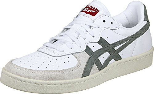 Onitsuka Tiger Unisex-Erwachsene GSM Niedrige Sneaker Multicolore (White/Agave Green)