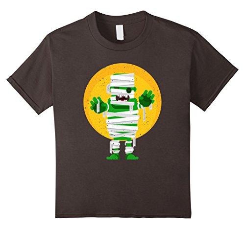 Frankenstein Girl Costume Ideas (Kids Franken Mummy Cute Halloween Costume T-Shirt 8 Asphalt)