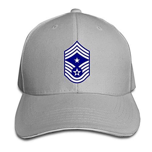 Ccm Vintage Cap - Jing Keeee USAF Chief Master Sergeant E9c CCMS Adjustable Baseball Caps Vintage Sandwich Cap