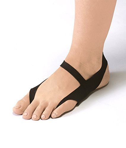 Ashipita One Touch - Negro Tamaño M - calzado médico - para los pies fríos,