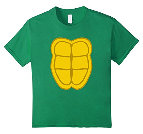 Kids Turtle Shell Halloween Costume Shirt Funny Cool Gift Idea 6 Kelly (Cool Halloween Costume Idea)