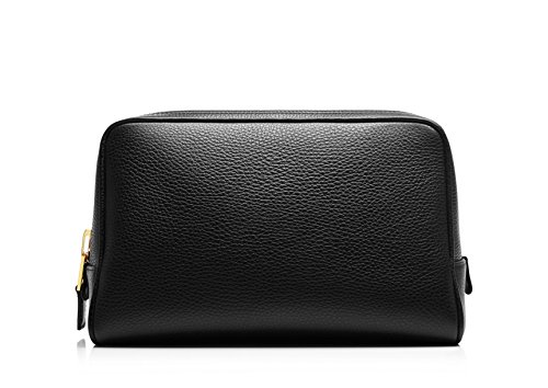 Tom Ford Black Leather Toiletry Bag by Tom Ford.