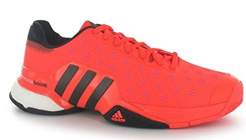 Adidas Barrikad 2015 Boost Tennis Sneaker Sko - Mens Sol Röd / Svart