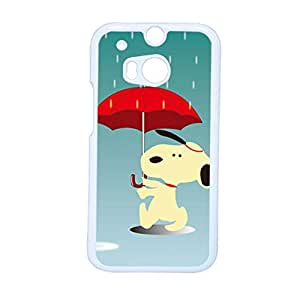 Generic Womon Abs For One M8 Htc Phone Cases Printing Snoopy Beautify