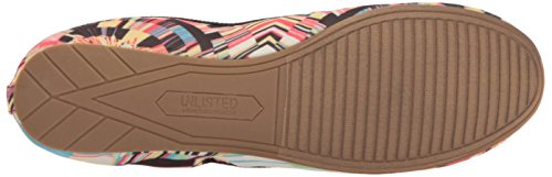 Unlisted Womens Whole Truth Ballet Flat Pink/Multi yzRY2t0