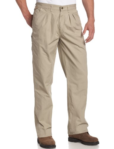 Wrangler Rugged Wear Mens Angler Relaxed Fit Pant,Khaki,44x30