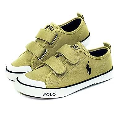 Polo Ralph Lauren White Velcro For Boys