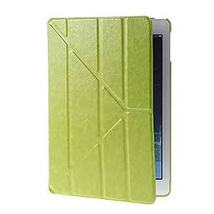Conseguir Diseño Creativo transformable PU caso completo de Body con soporte para iPad Aire (colores surtidos) , Verde