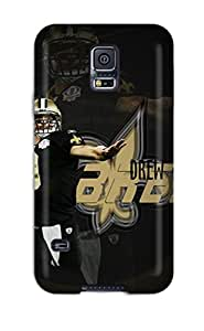 New Premium DanRobertse New Orleansaints Skin Case Cover Excellent Fitted For Galaxy S5