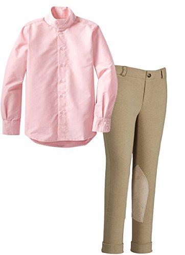 TuffRider Girl's Light Tan Starter Lowri - Warm Knee Patch Breeches Shopping Results