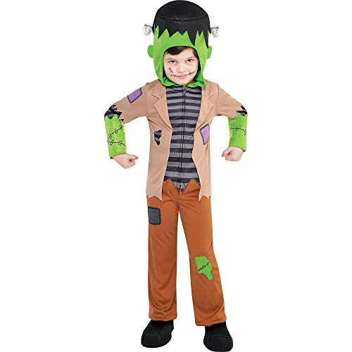 Suit Yourself Frankenstein's Monster Costume for Toddler Boys, Size 3T to 4T, Includes a Shirt, Pants, a Hood, and More]()