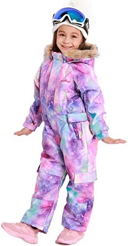 Bluemagic Kid's Baby One Piece Snowsuits Overalls Ski Suits Jackets Coats Jumpsuits Winter Outdoor Waterproof Snowboarding