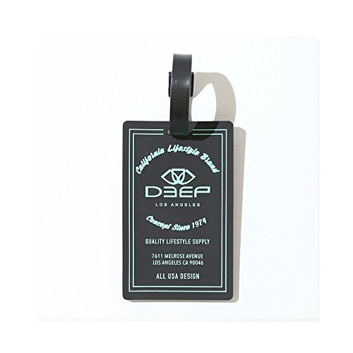 Simply Silver   Deep Melrose Silicone Travel Luggage Tag Suitcase Id Address Tags Label Holder