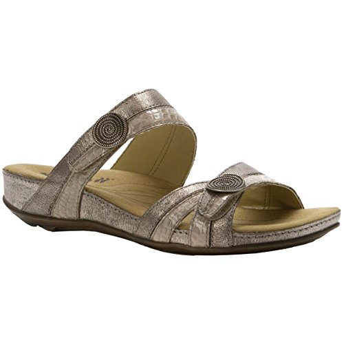 Fidschi Womens Leather 22 Romika Platinum Sandals x60BpZTqw